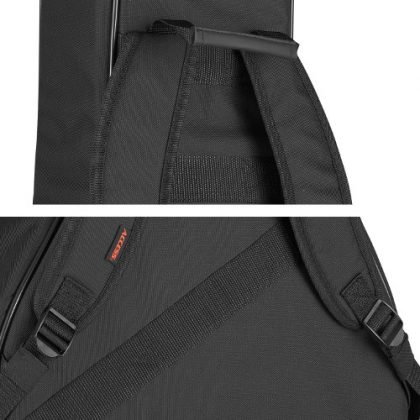 Adjustable backpack-style straps