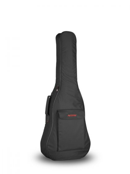 Full front view UpStart Small Body Acoustic Guitar Gig Bag