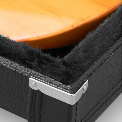 Reinforced 8mm, 5ply Luan plywood shell with medium-nap, ultra-plush interior over a protective layer of HardCell™ protective foam padding