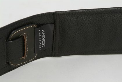 Extra Short Guitar Strap by Harvest Fine Leather, Brown