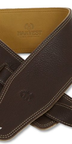 Bass Strap by Harvest Fine Leather, Brown